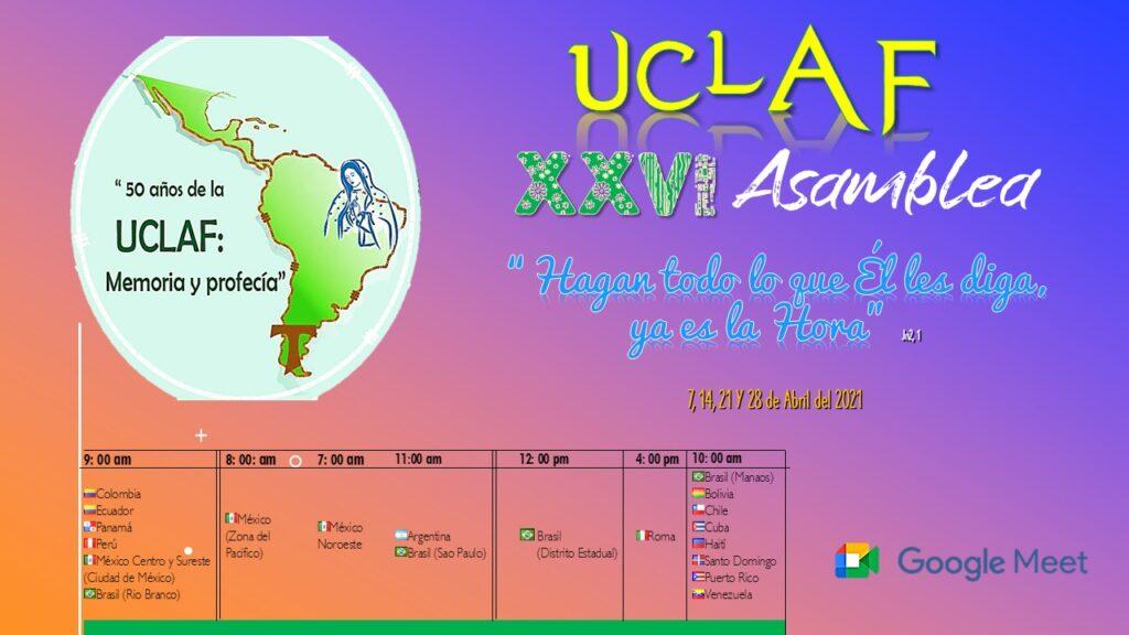 Comenzó la XXVI° Asamblea de la UCLAF