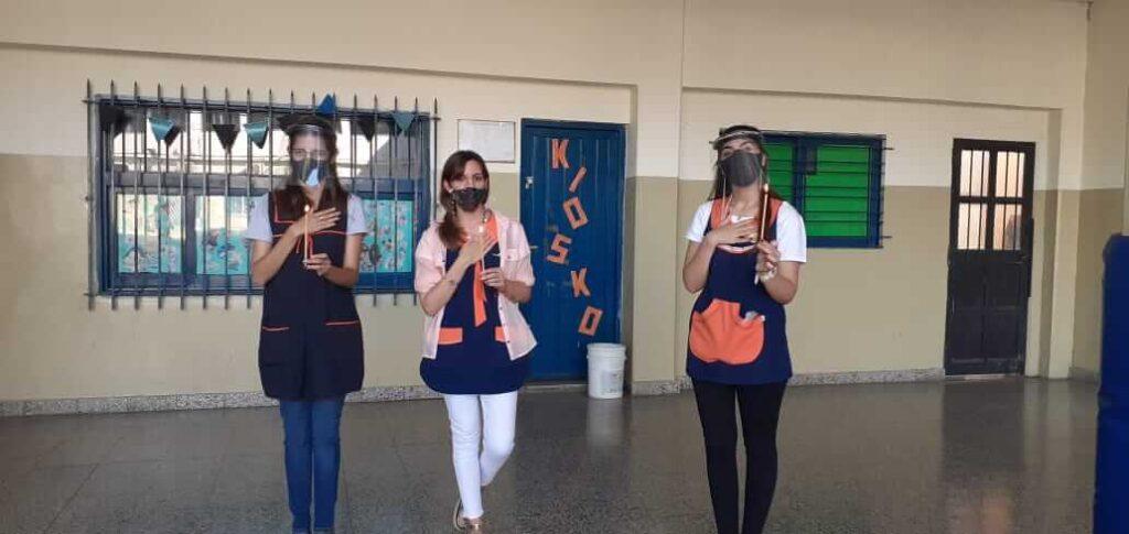 Pascua presencial en el colegio San Antonio de Padua
