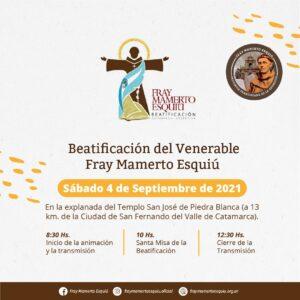 Recepción del enviado Papal y misa en la Basílica @ Catedral Basílica, Catamarca