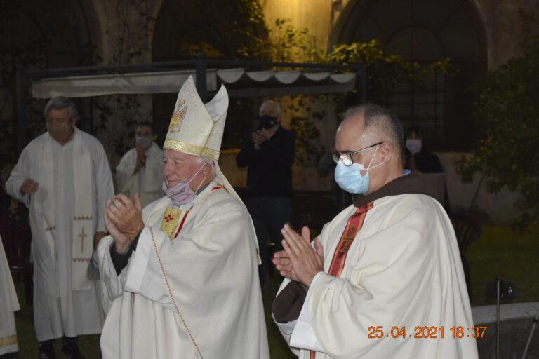 La Diócesis de Merlo, Moreno, recibe la Parroquia San Antonio de Padua de manos de la Orden franciscana