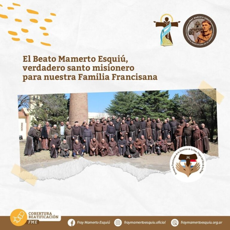 El Beato Mamerto Esquiú, verdadero santo misionero